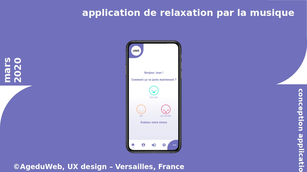 Exemple d'un cahier de conception pour le développement d'une application mobile, via l'UX design
